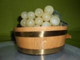 Corbeille à fruits vernie