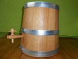 Vinaigrier conique en chêne de 3 litres