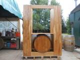 Meuble Présentoir Comptoir à vin en chêne