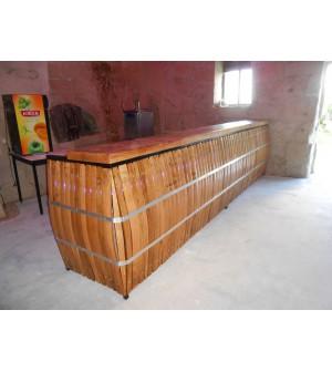 Fabrication de barriques barriques viticoles d coration - Comptoir de bar sur mesure ...