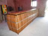 Comptoir de Bar en chêne sur mesure
