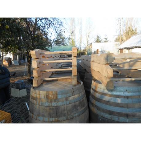 Chevalets pour barriques de 225 litres