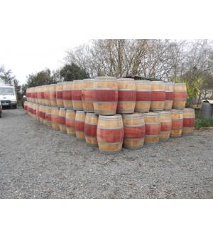 Barriques en chêne 225 l rouge