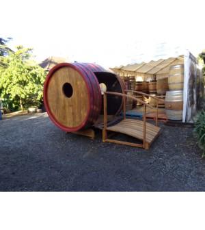 Foudre en chêne modifié cabane de jardin ou autre