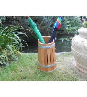 Porte parapluie en chêne