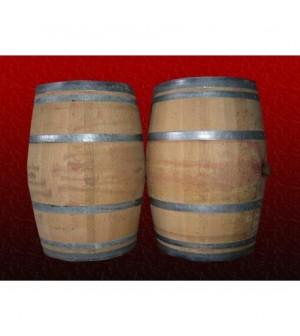 Barrique en chêne 225 litres , 3 vins (rouge)
