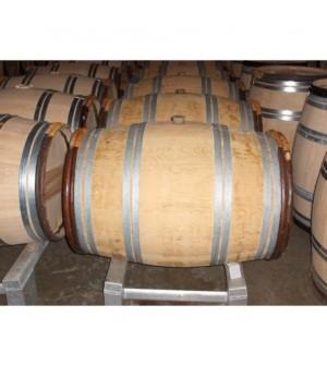 Barrique en chêne 225 litres à blanc, 2 vins