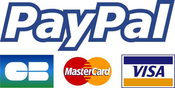 Paiemant Paypal accepté